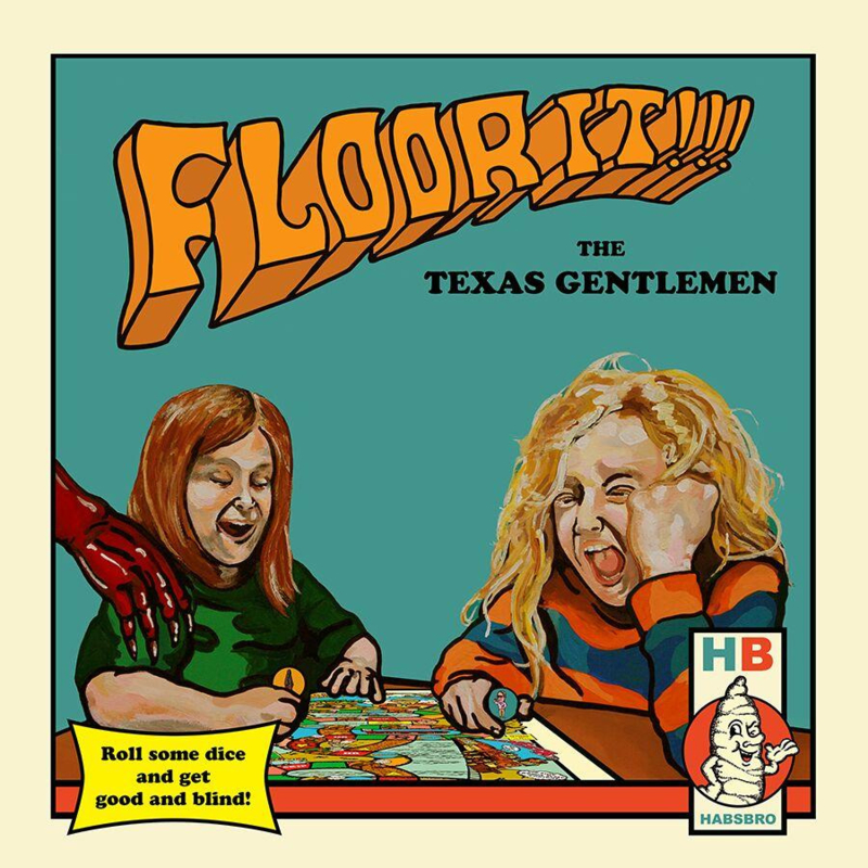 Texas Gentlemen - Floor it!!! (LP)