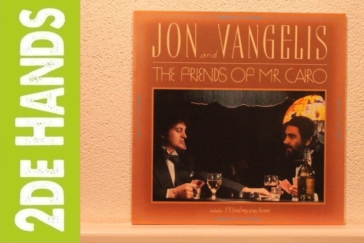 Jon and Vangelis - The Friends Of Mr Cairo (LP) C10