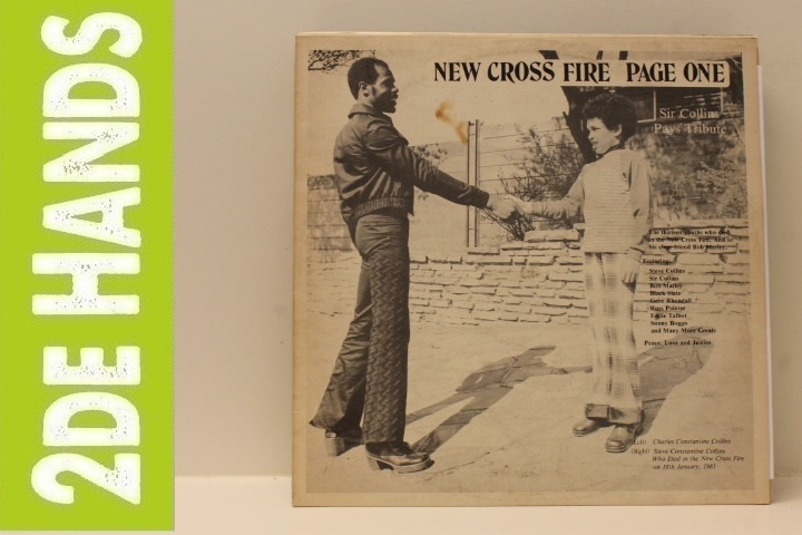 Sir Collins – New Cross Fire Page One (LP) D60