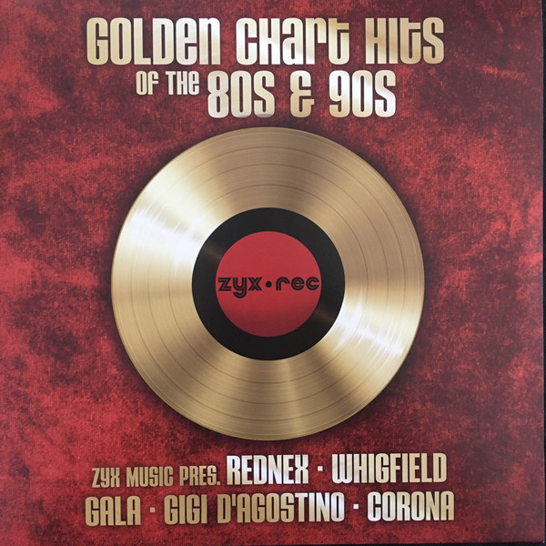 Various – Golden Chart Hits Of The 80s & 90s (LP)