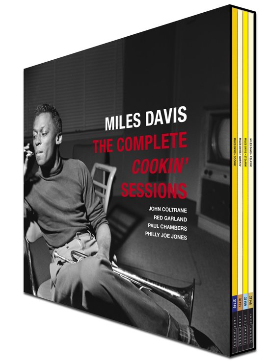 Miles Davis - Complete Cookin' Sessions (4LP BOX)