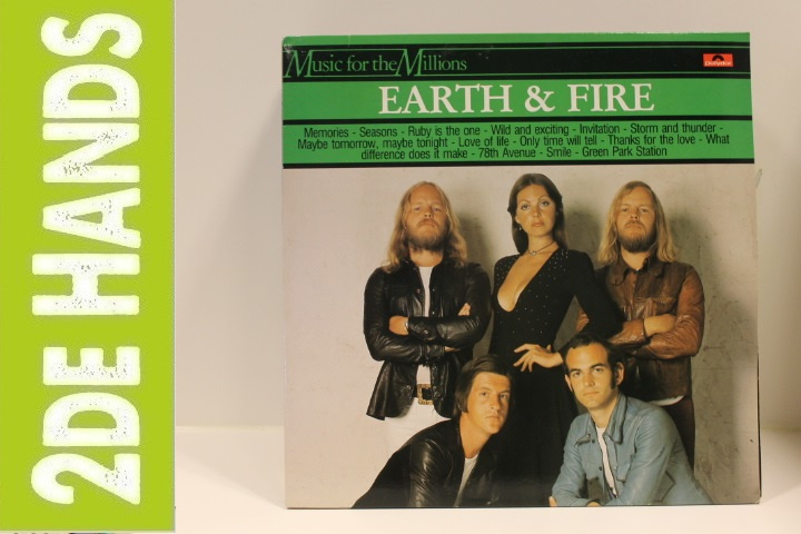 Earth & Fire ‎– Earth & Fire (LP) K20
