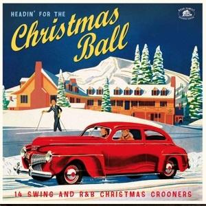 Various - Headin' For the Christmas Ball  (LP)