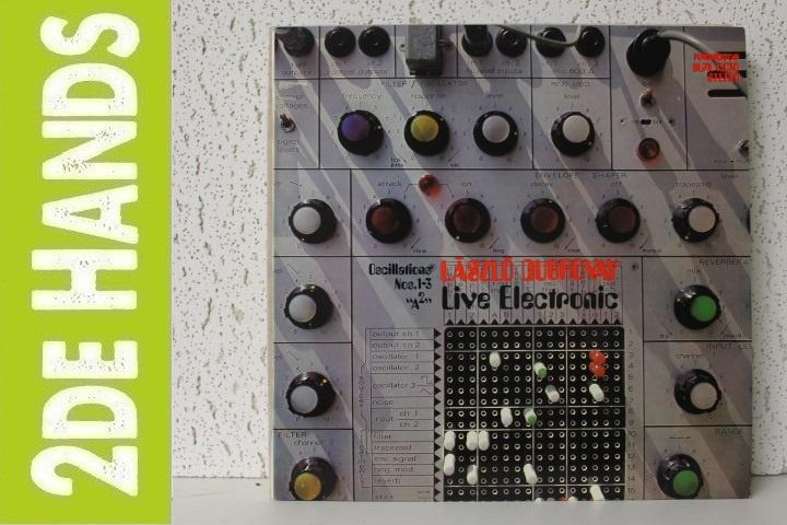 """László Dubrovay – """"A² """"/ Oscillations Nos. 1-3 (LP) D10"""