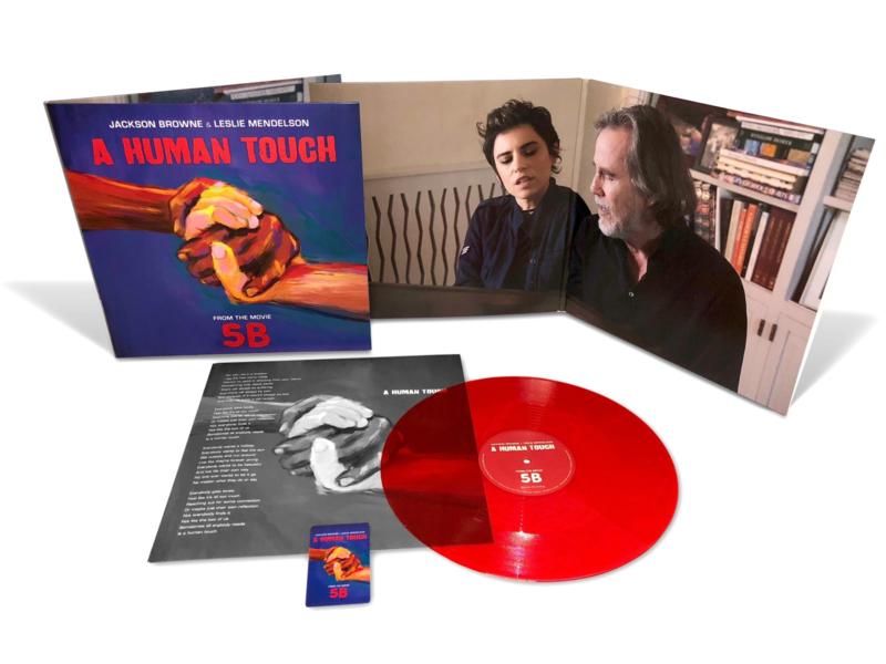 Jackson Browne & Leslie Mendelson – A Human Touch (LP)