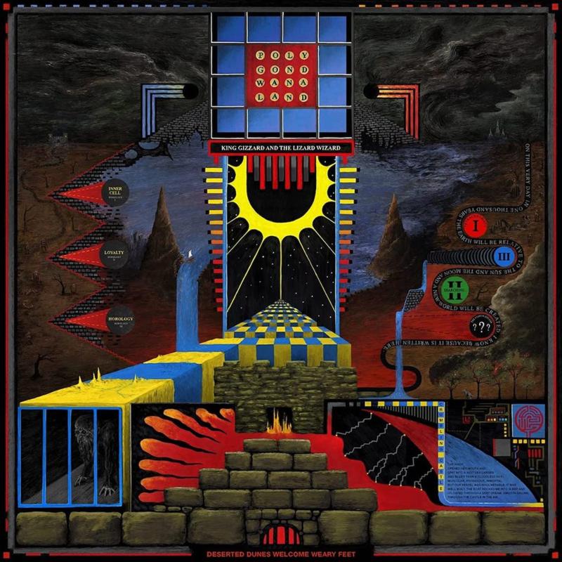 King Gizzard & The Lizard Wizard - Polygondwanaland (LP)