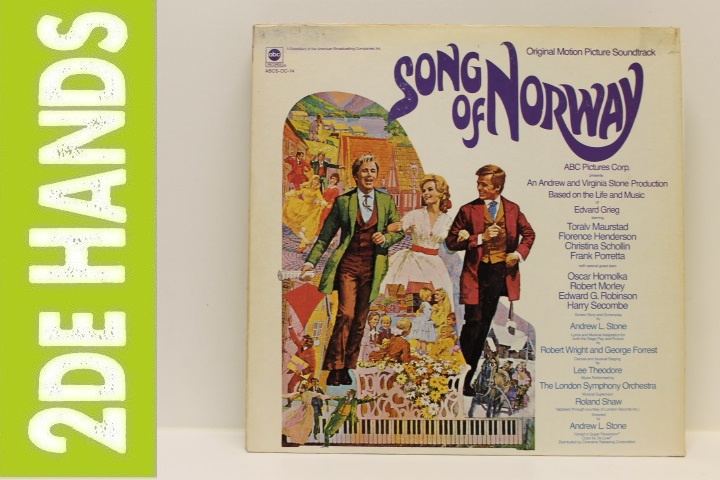 Various – Song Of Norway - Original Motion Picture Soundtrack (LP) B40