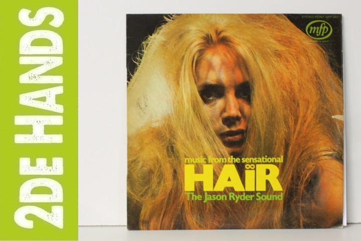 Jason Ryder Sound ‎– Music From The Sensational Hair (LP) C60