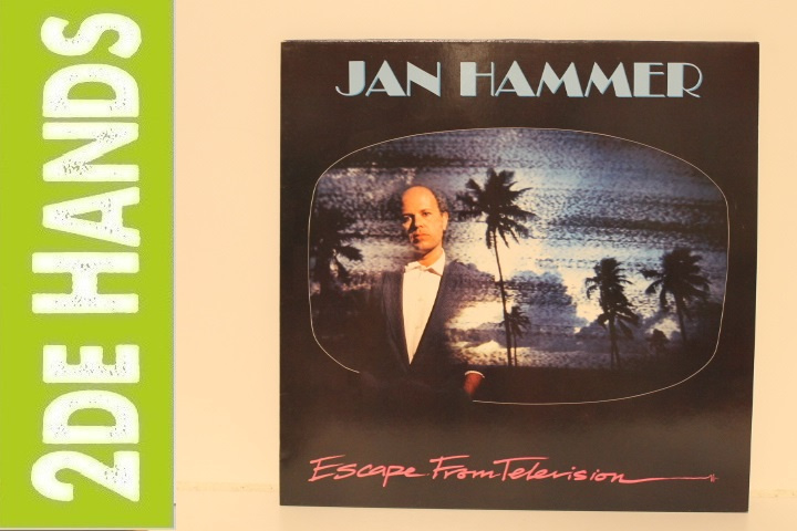 Jan Hammer ‎– Escape From Television (LP) A20