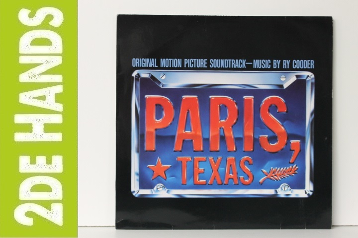 Ry Cooder ‎– Paris, Texas OST (LP) C90