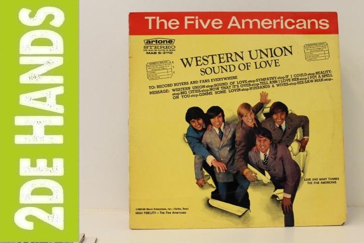 Five Americans – Western Union / Sound Of Love (LP) C40