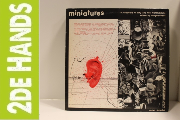 Various ‎– Miniatures (A Sequence Of Fifty-One Tiny Masterpieces Edited By Morgan-Fisher) (LP) F20