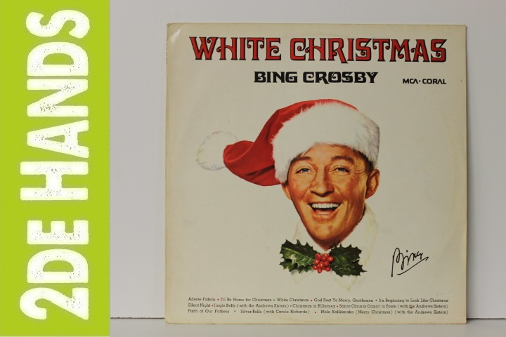 Bing Crosby Merry Christmas.Bing Crosby White Christmas Lp F70 Pop Lp S Bob S