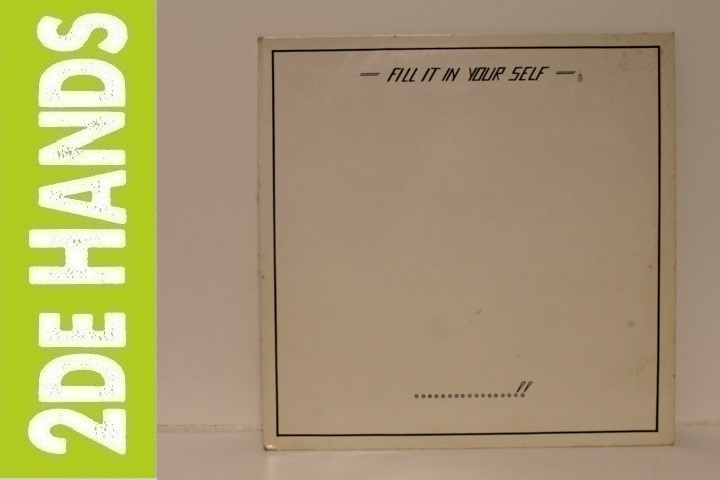 The Clear – Fill It In Your Self (LP) A10
