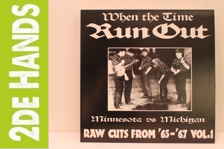 Various - When The Time Run Out (Minnesota Vs Michigan) (LP) E20