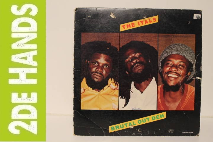 The Itals ‎– Brutal Out Deh (LP) J20