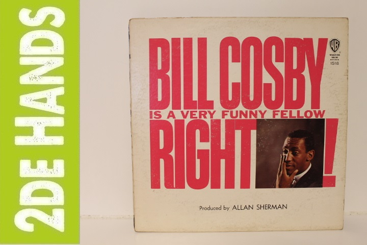 Bill Cosby – Bill Cosby Is A Very Funny Fellow Right! (LP) B40