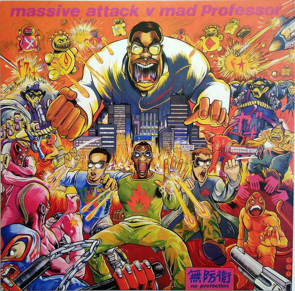Massive Attack V Mad Professor - No Protection (LP)