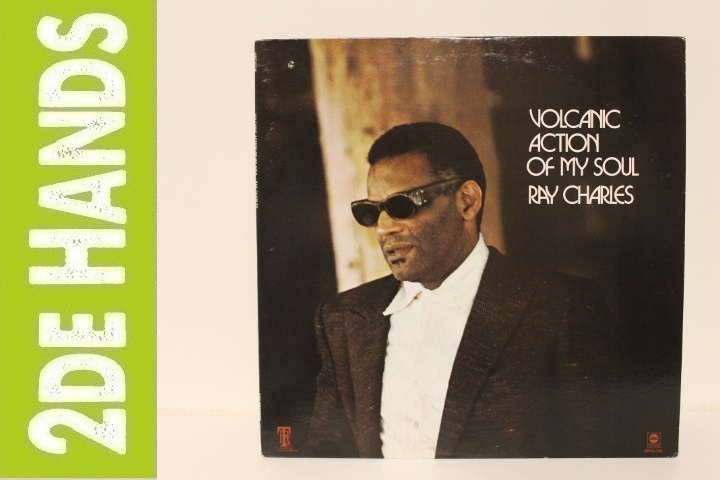 Ray Charles ‎– Volcanic Action Of My Soul (LP) D70