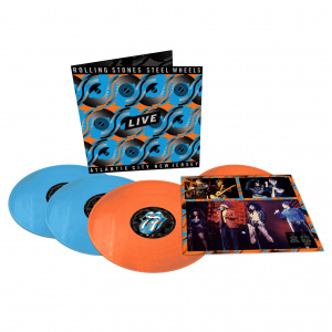 Rolling Stones - Steel Wheels Live -Ltd- (4LP)