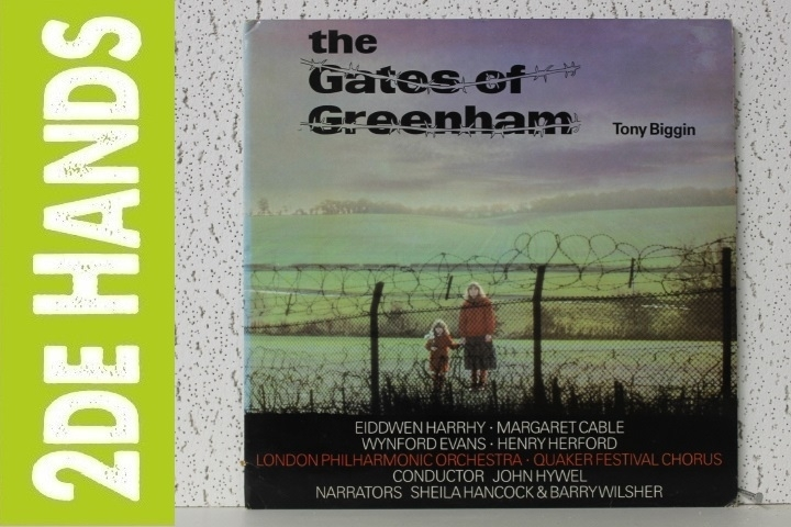 Tony Biggin - The Gates Of Greenham (2LP) C60