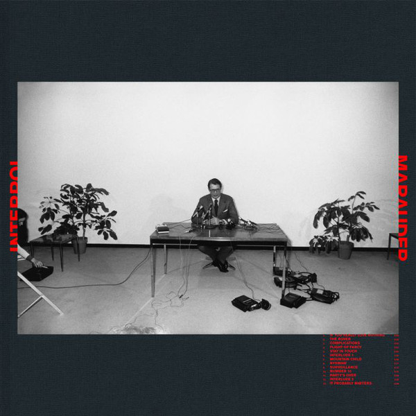 Interpol ‎– Marauder (LP, Coloured)
