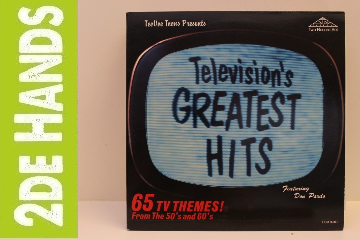 Various – Television's Greatest Hits (65 TV Themes! From The 50's And 60's) (2LP) H40