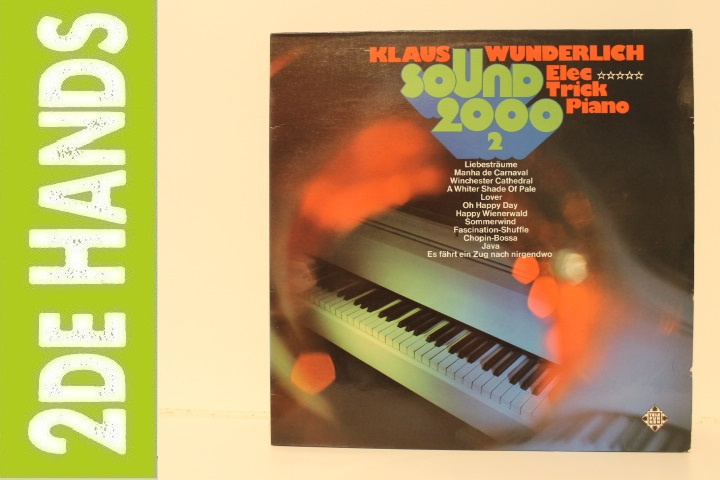 Klaus Wunderlich – Sound 2000 2 - Elec Trick Piano (LP) C90