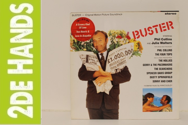 Various ‎– Buster - Original Motion Picture Soundtrack (LP) A20