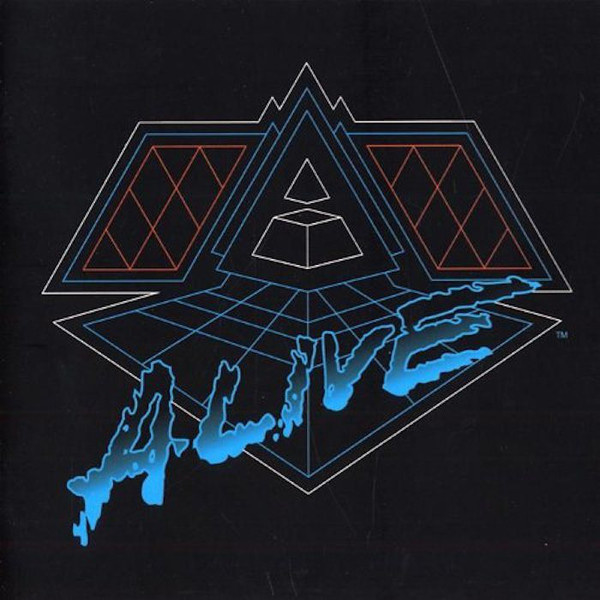 Daft Punk – Alive 2007 (2LP)