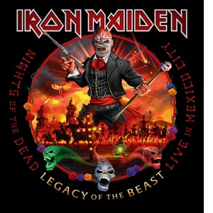 Iron Maiden – Nights Of The Dead, Legacy Of The Beast: Live In Mexico City (3LP)