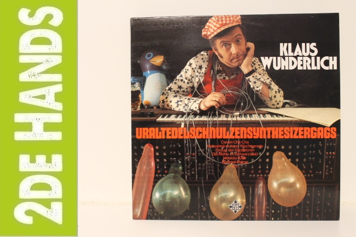 Klaus Wunderlich – Uraltedelschnulzensynthesizergags (LP) C90