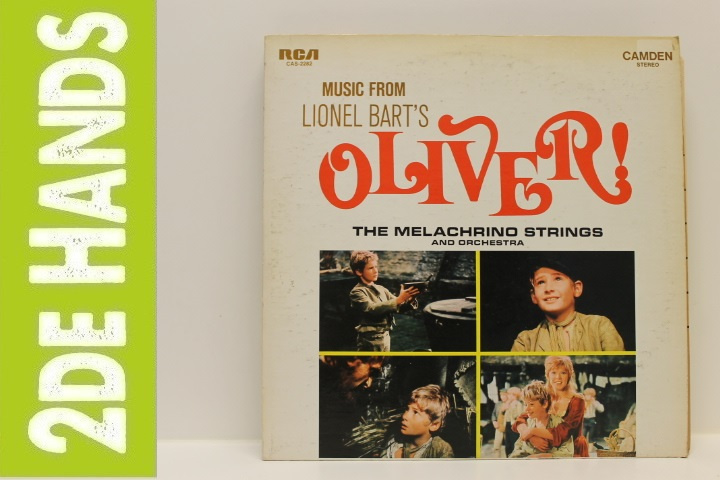 Melachrino Strings And Orchestra – Music From Lionel Bart's Oliver! (LP) B40