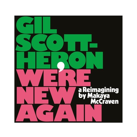 Gil Scott-Heron - We're New Again (LP)