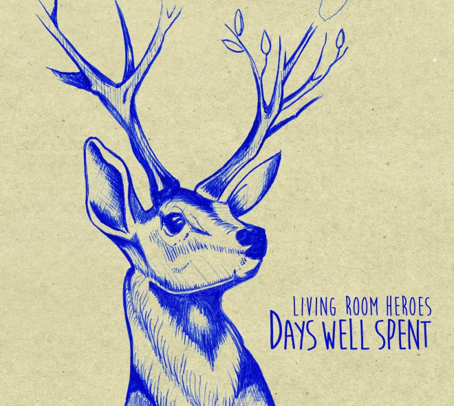 Living Room Heroes ‎– Days Well Spent (LP)