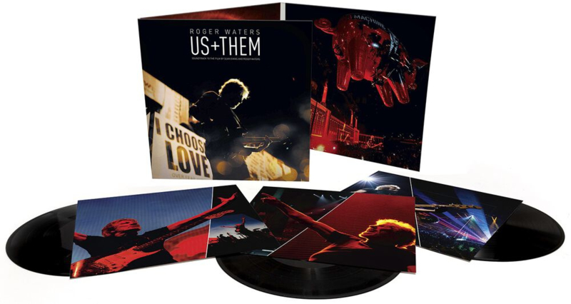 Roger Waters - Us + Them (PRE ORDER) (3LP)