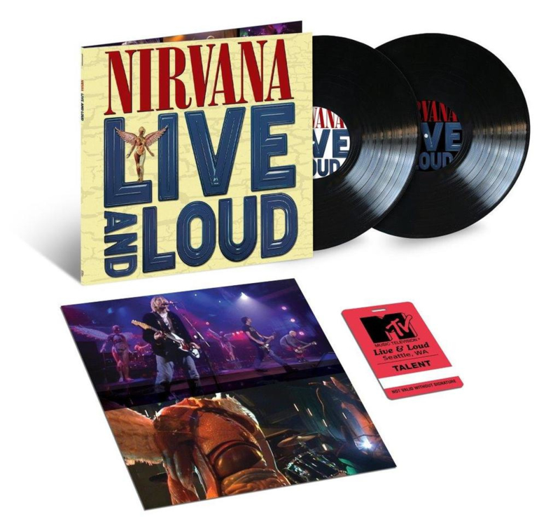 Nirvana ‎– Live And Loud (2LP)