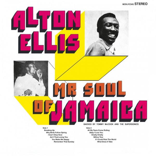 Alton Ellis – Mr Soul Of Jamaica (LP)