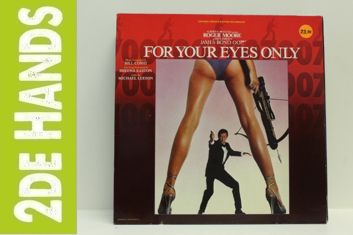 Bill Conti – For Your Eyes Only (Original Motion Picture Soundtrack) (LP) H40