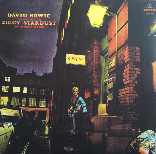 David Bowie – The Rise And Fall Of Ziggy Stardust And The Spiders From Mars (LP)