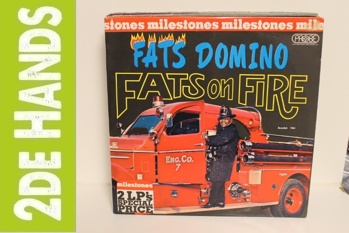 Fats Domino ‎– Fats On fire / Getaway With Fats Domino (2LP) G70