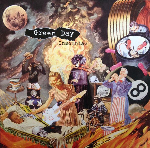 Green Day – Insomniac (LP)