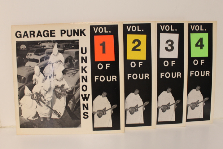 Various ‎– Garage Punk Unknowns Vol. 1-4 (Serie van 4LP's) S10
