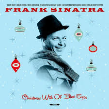 Frank Sinatra ‎– Christmas With Ol' Blue Eyes (LP)