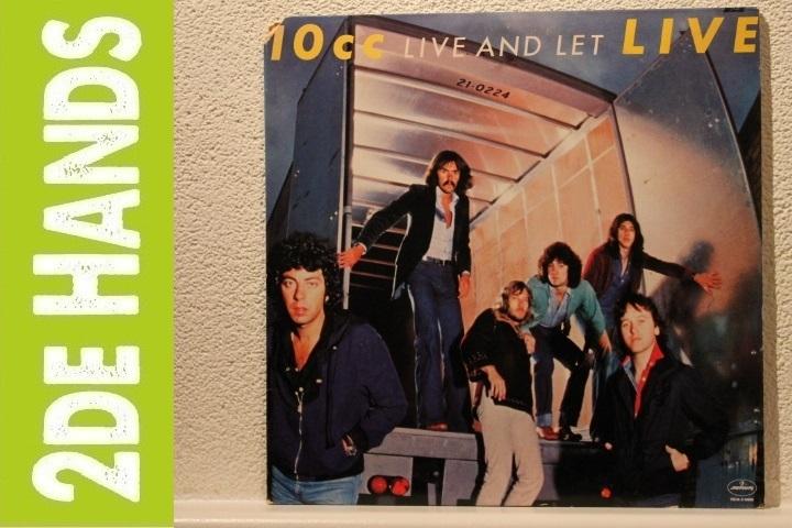 10cc - Live And Let Live (2LP) K50