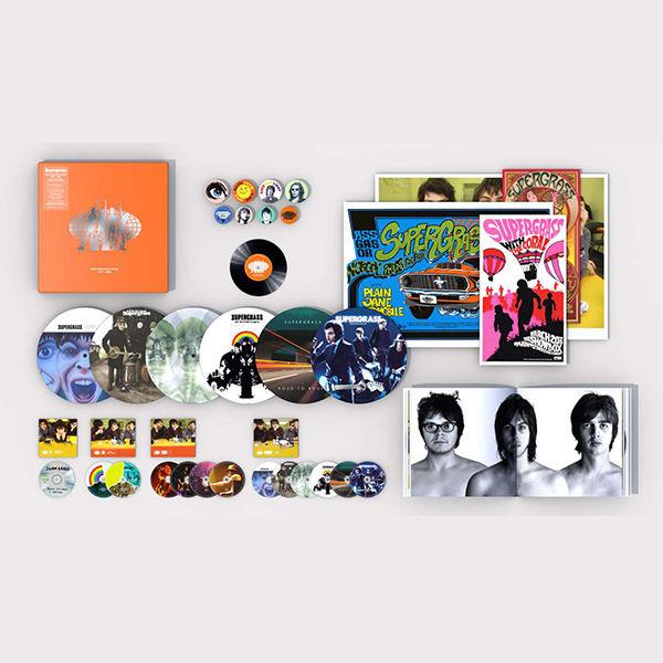 Supergrass - The Strange Ones: 1994-2008 (DELUXE BOXSET)