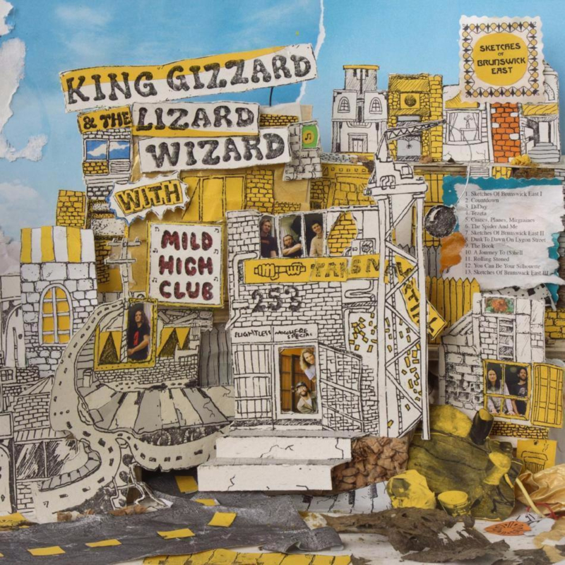King Gizzard And The Lizard Wizard With Mild High Club - Sketches Of Brunswick East (LP)