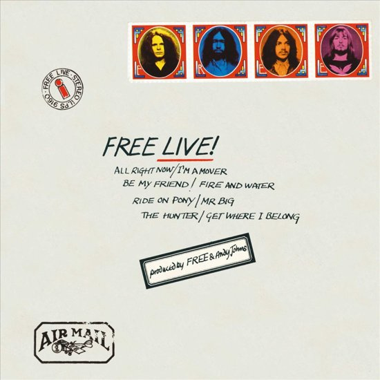 Free – Live (LP)