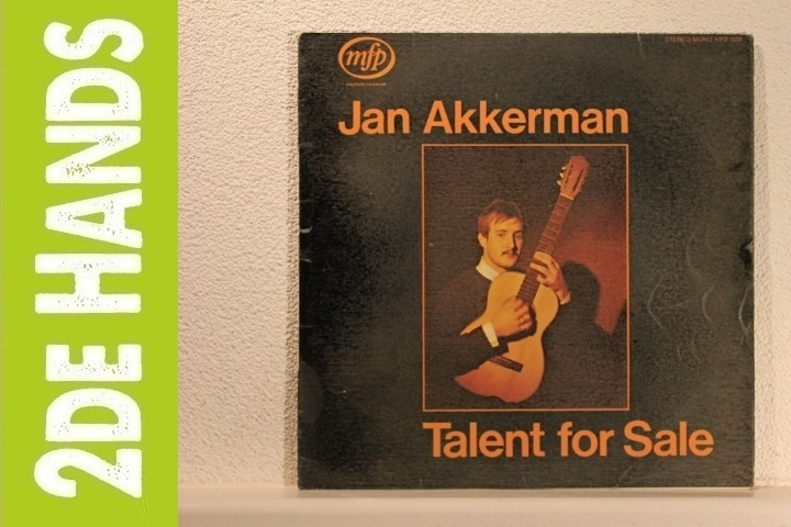 Jan Akkerman - Talent For Sale (LP) B10