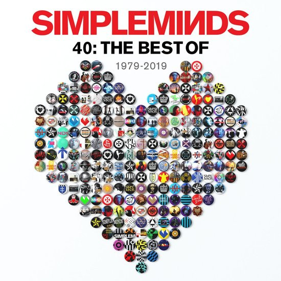 Simple Minds - 40: The Best Of Simple Minds (2LP)
